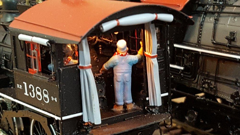 Cab Interior with lighting -