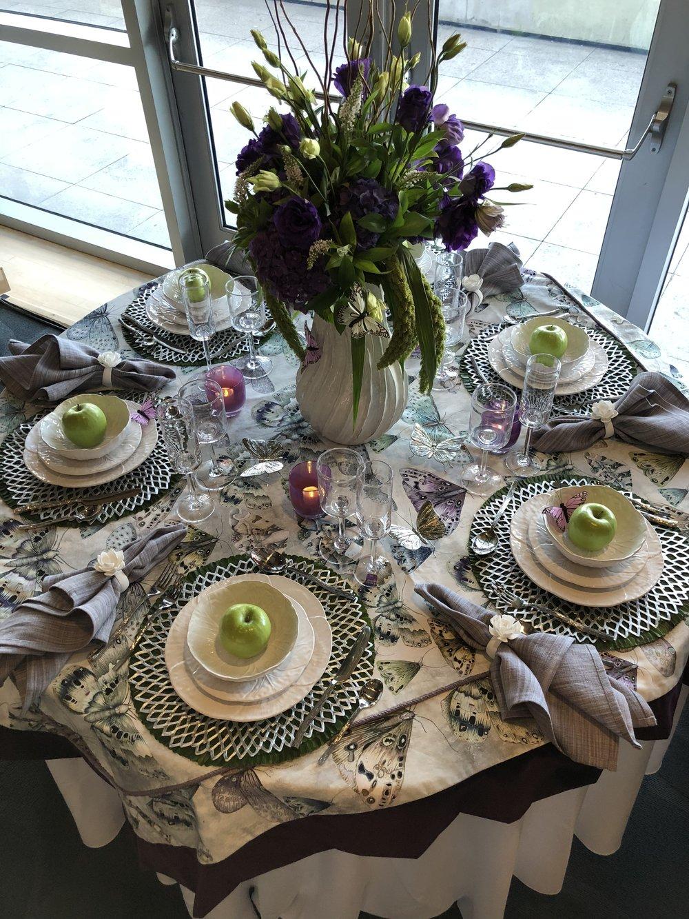 Design & Discovery Event - Alison Whittaker Design Tablescape