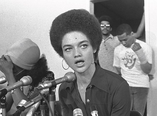 "Reserve your ticket today. Don't miss this FREE event!!✊🏾✊🏿Friday, Jan 20th 7-9pm, Kelly ECC Unity Suite. A Dynamic Discussion with Kathleen Cleaver and screening of the film, ""Black Panther Party: Vanguards of a Revolution."" Cleaver is the former Communications Secretary of the BPP. For more info: https://huskylink.washington.edu/organization/ecc/calendar/details/1171312 #blackgenderuw #blacklivesmatter"