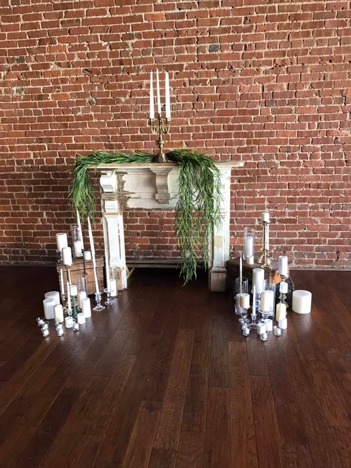 mantle and various candle holders available