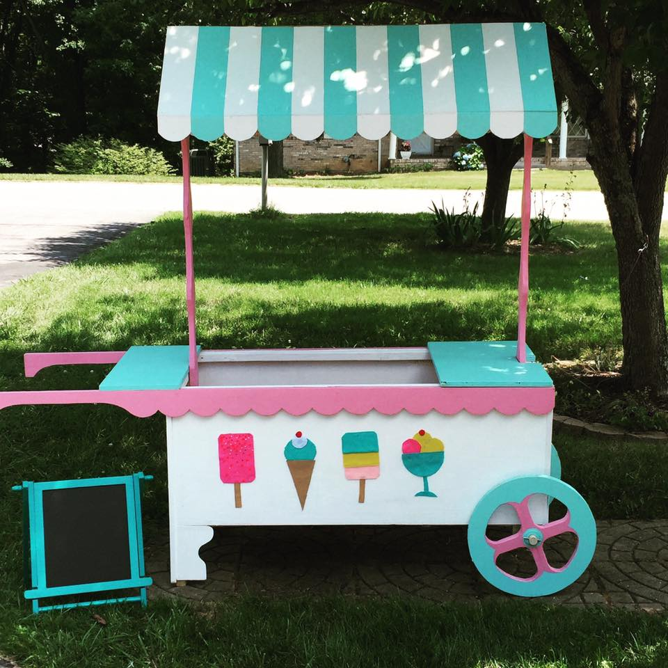 Ice Cream cart for photoshoots and parties