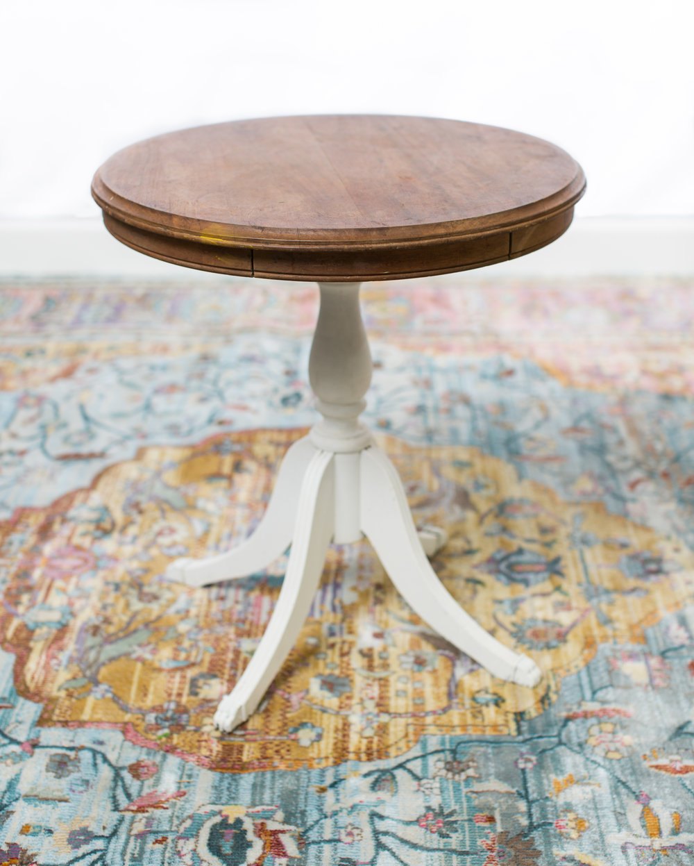 "Small Side Table  22"" Tall 