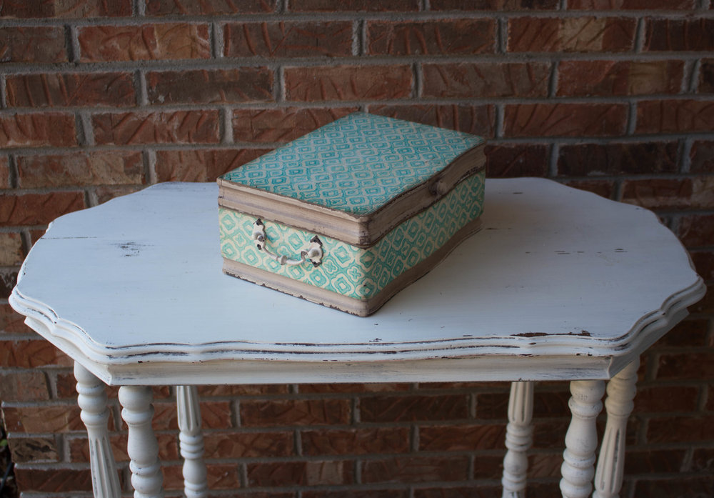 Shabby Chic Card Box  Qty: 1