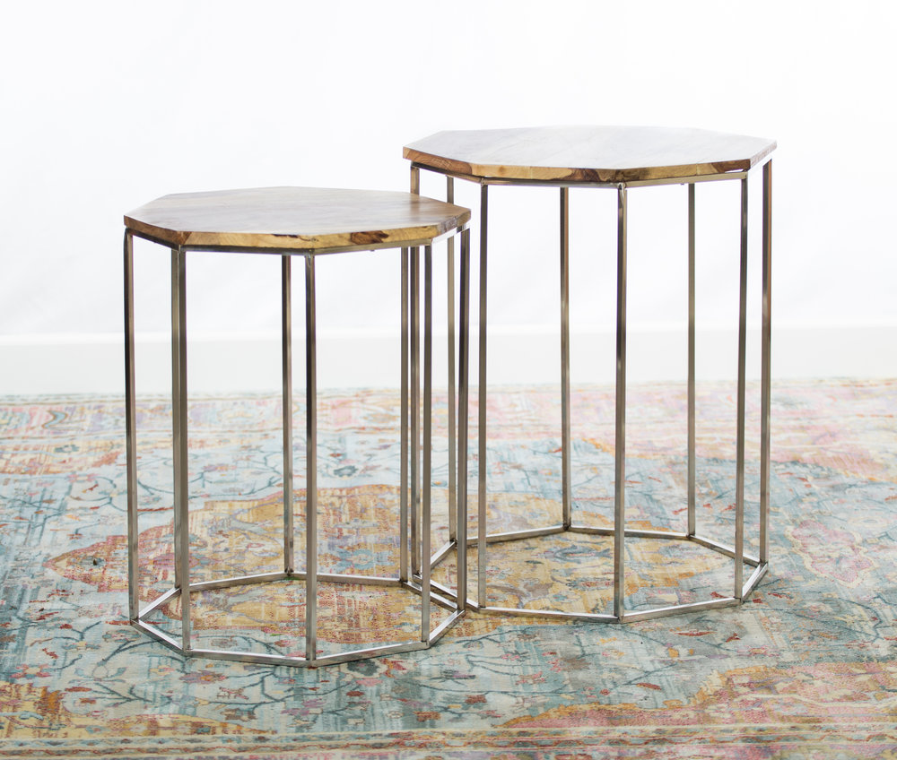 Constance Table pair  Qty: 2