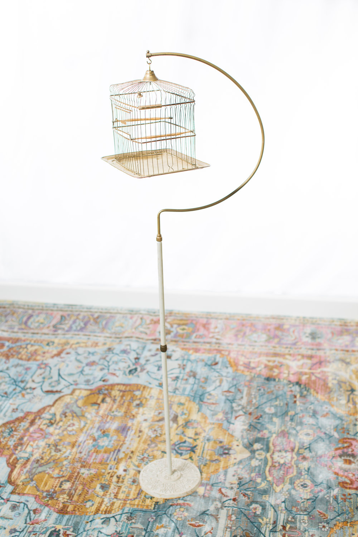 Vintage Hendrix bird cage