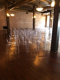 ghost chairs at foundation event facility.jpg
