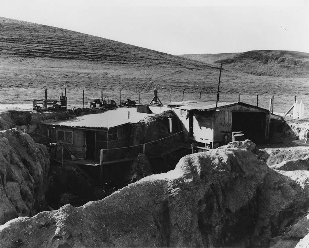 This camp was Phil Orr's base of operations at Arlington Springs
