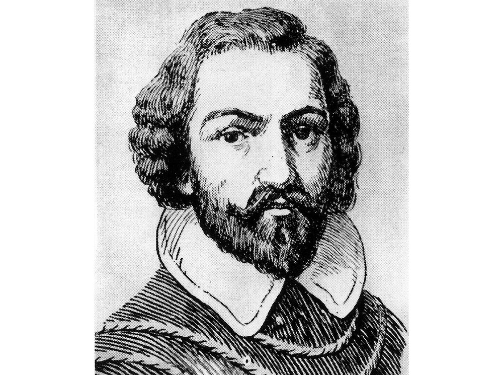 Illustration of Juan Rodriguez Cabrillo, leader of the first European expedition to reach California