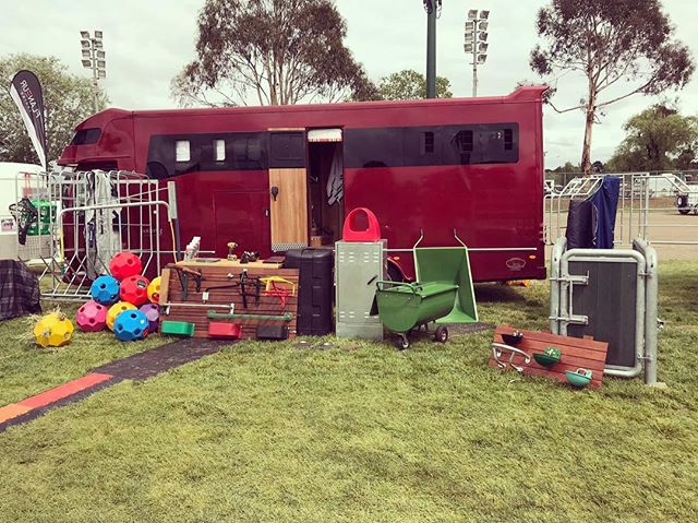 Last day at the NSW State SJ Championships today! Make sure you swing by, say hi and check out our fantastic range of stable products from Germany. #flaneurequine #nswstateshowjumpingchamps #qualitygermanproducts #hayballs #tacktrunks #wheelbarrows #feedcarts #showjumpingaustralia