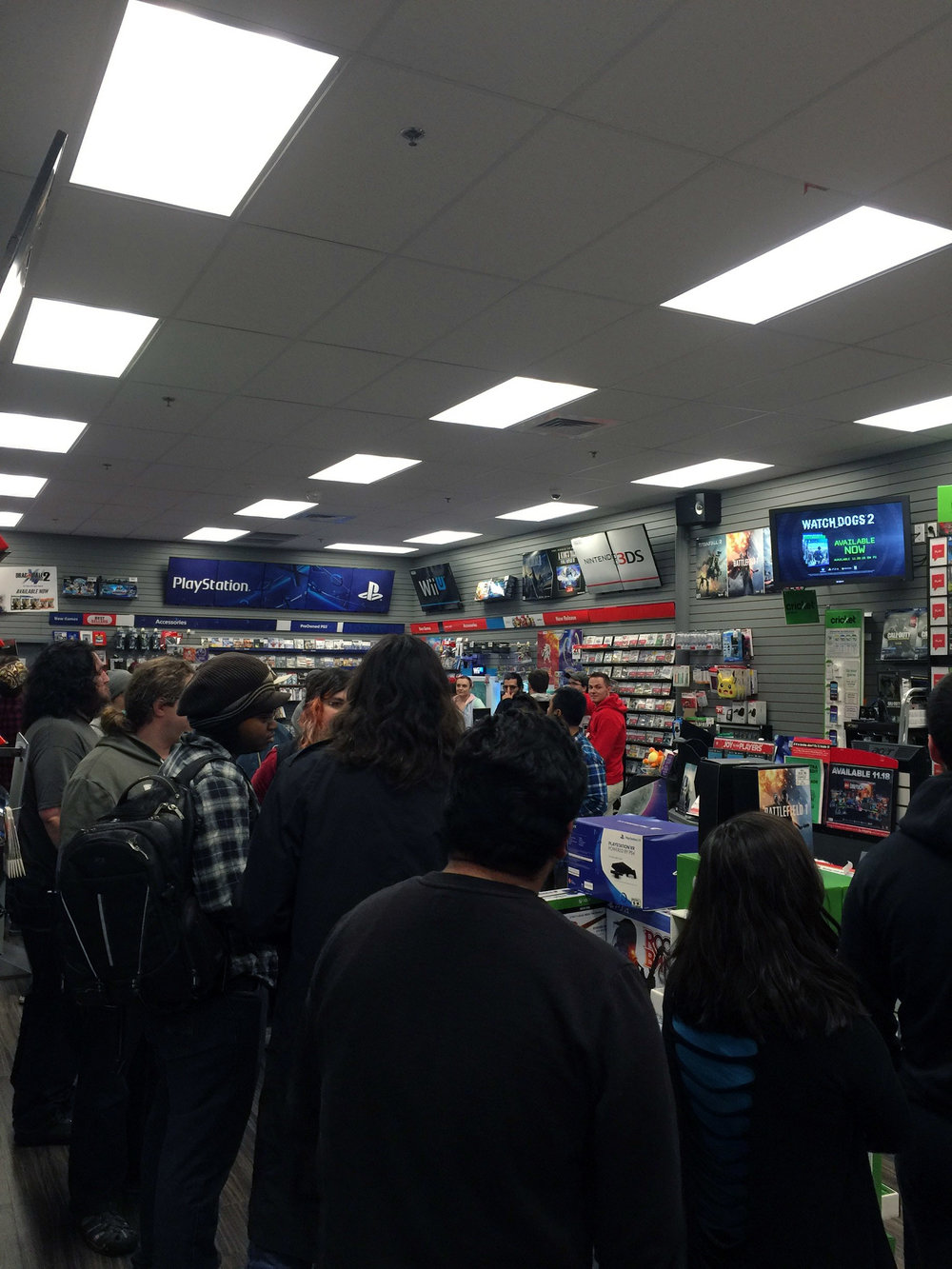 People at Gamestop