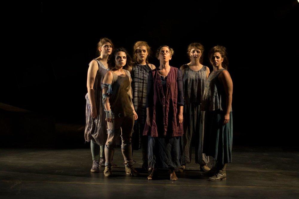 "Chorus, ""Women of Troy"", 2016"