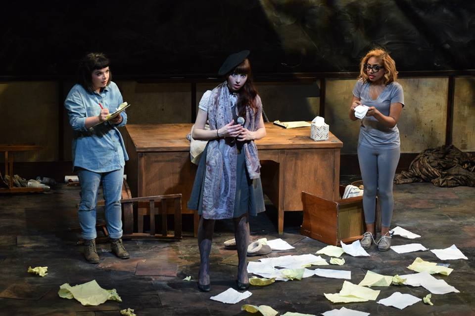"Great Poetess, ""365 Days/365 Plays"", 2015"