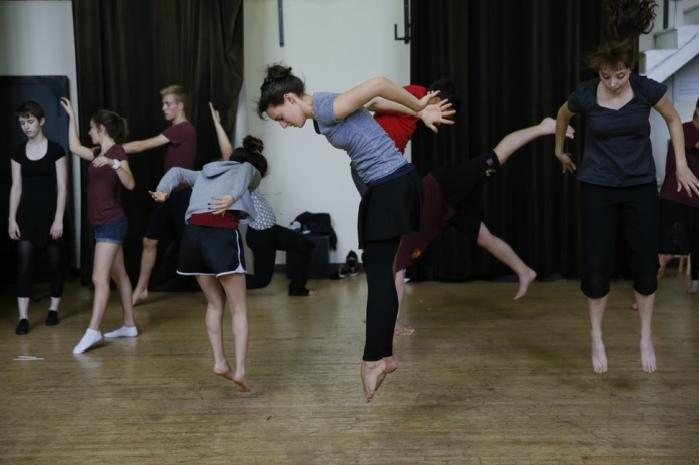 Dance class, 2014