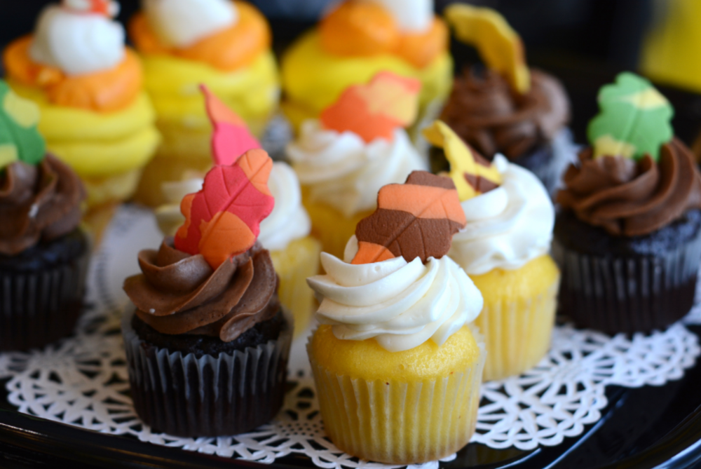 Fall cupcakes for $3/person
