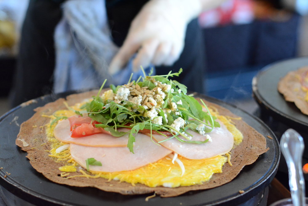 On-site signature crepes for $14/person available in SF/Bay Area