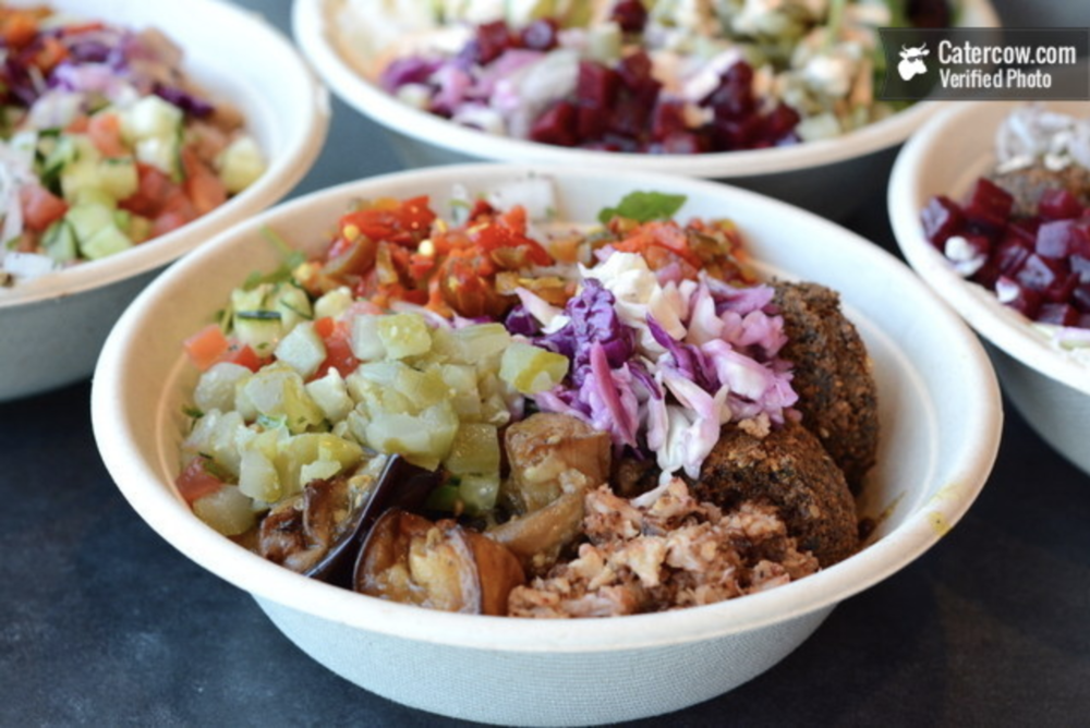 Sajj's Build Your Own Mediterranean Bowl