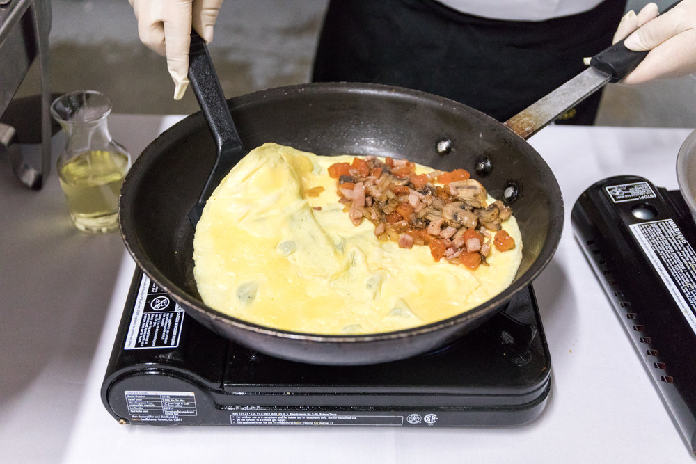 On-Site Omelets - by Arguello Catering