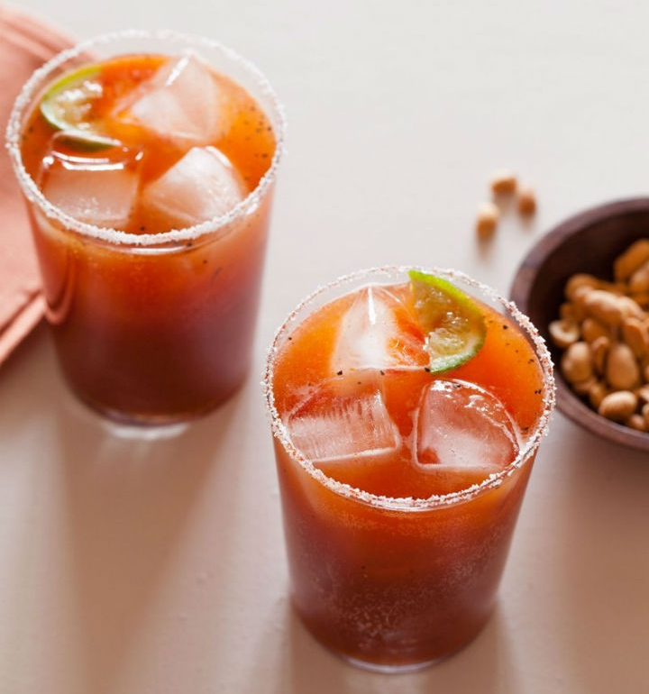 Spicy Michelada recipe  from spoonforkbacon