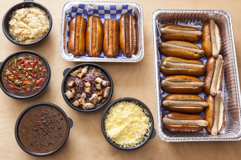 Haus-Made Hot Dog Bar - Bronwyn Restaurant (Boston)