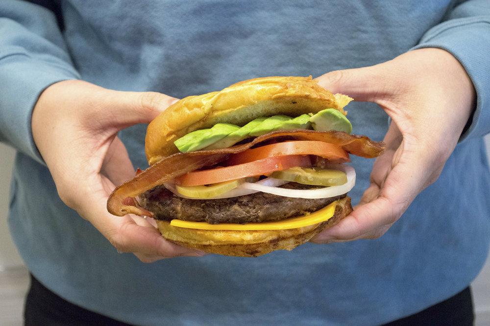 Custom Built Burger Bar - Fresh n Healthy Catering (LA)