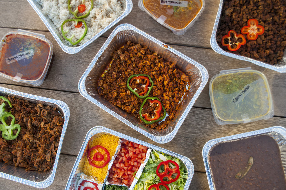 Build Your Ultimate Burrito Bowl - Skys Gourmet Tacos (LA)