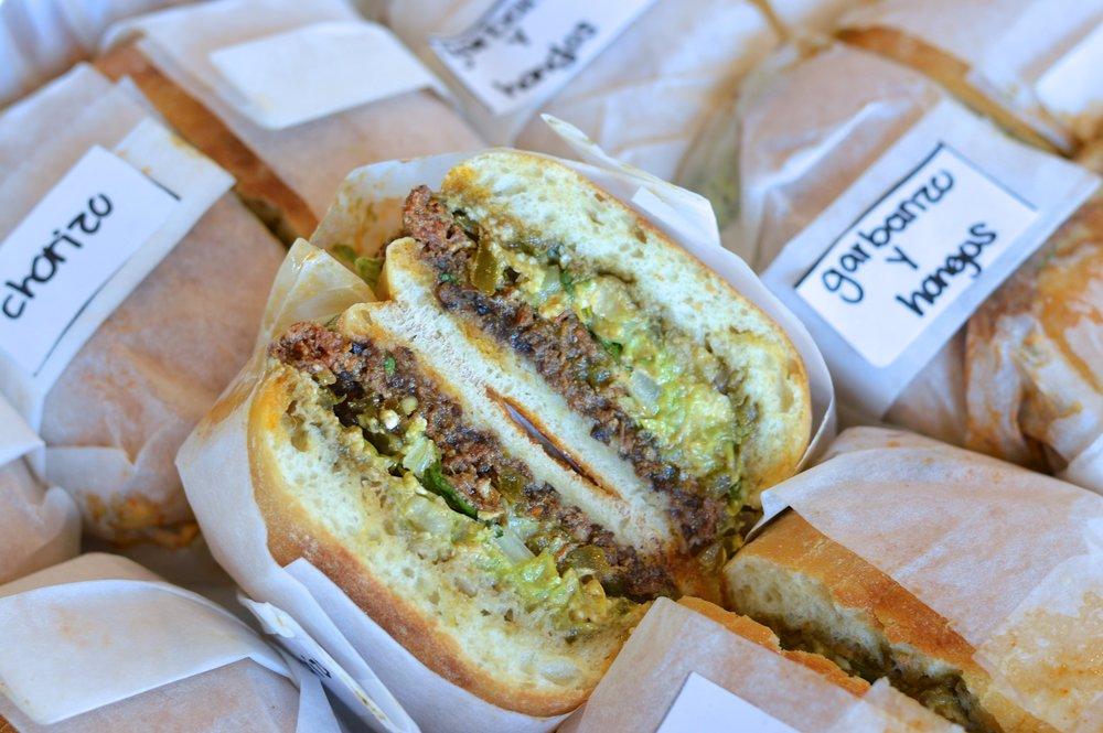 Tortas (Mexican Sandwiches) - Choza Taqueria (NYC)