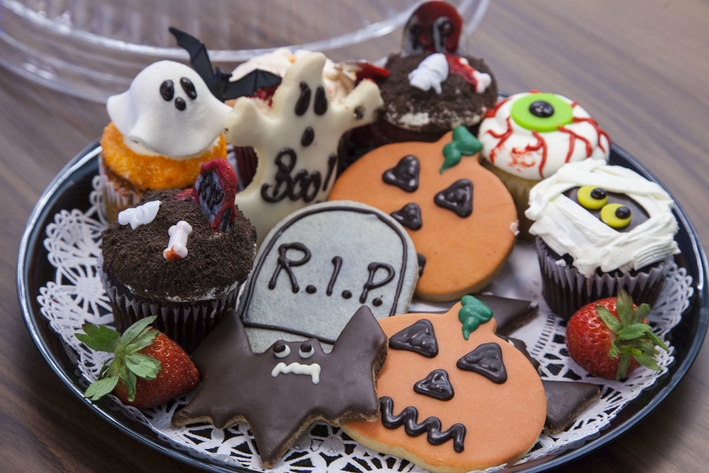 Graveyard Sweets Platter - by Sensational Foods