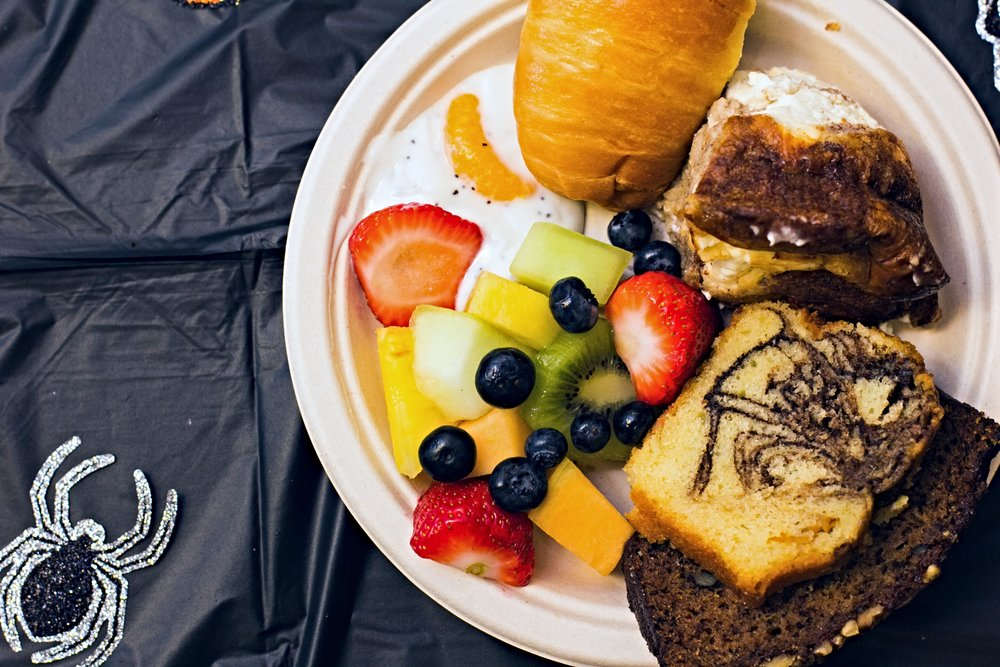 Spooky Sweet Hot Breakfast - by Cojo Unlimited Catering