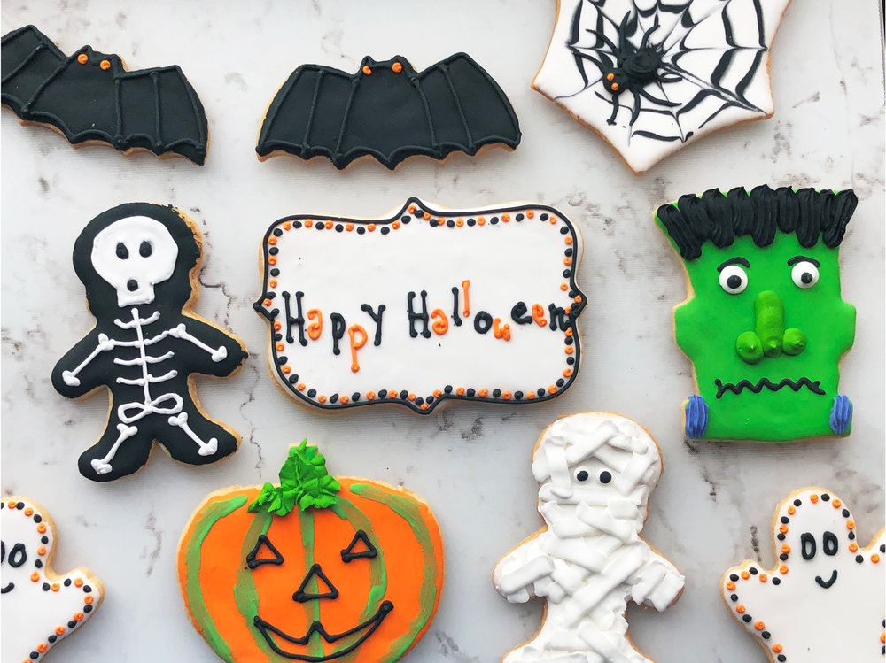 Ghoul Squad Hand-Decorated Cookies - by Bonne Fete Baking