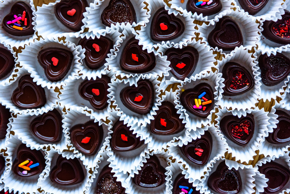Decadent Chocolate Hearts - Becky's Bites (NYC)