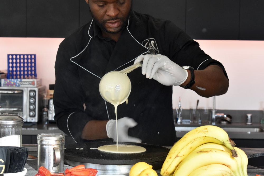 French Crepes with On-Site Chefs - Catering of Paris (LA)