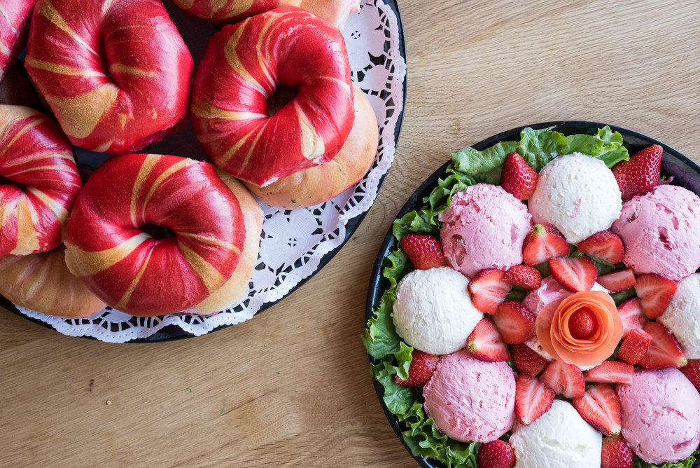 Roses Are Red & Bagels Are Too - Sandwich & Co (NYC)