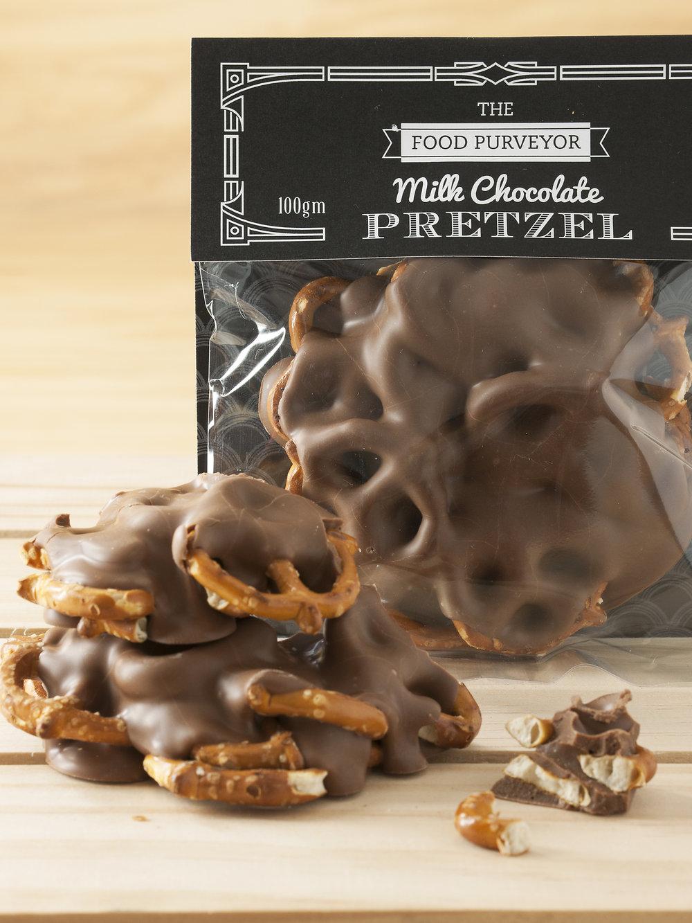 Chocolate Pretzels -