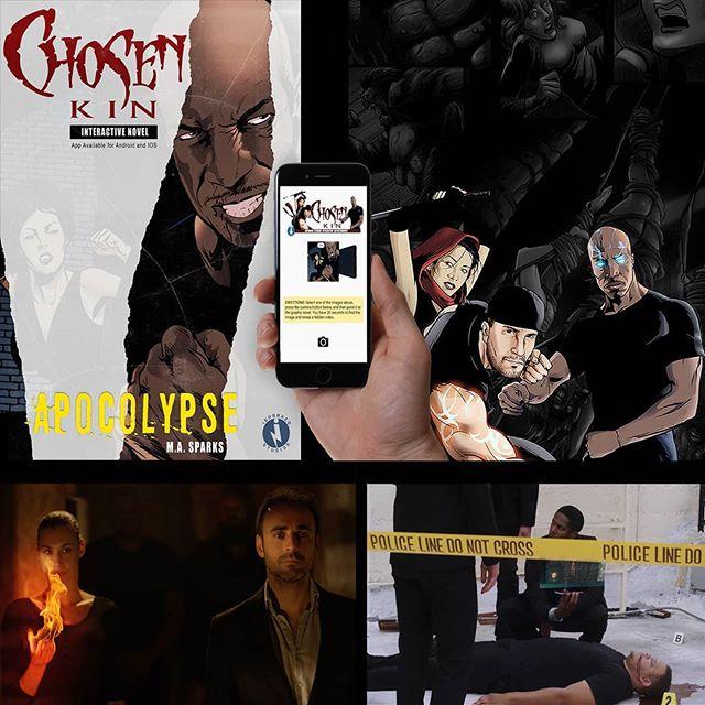 The Chosen Kin Origing Bundle, Season 1 Download + Interactive Graphic Novel + App coming exclusively to PJs and Pixels January 2018. #chosenkinorigins #supernatural #superheroes #scifi #comicbooks #marvel #dccomics #endgame