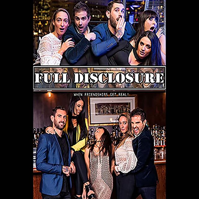 "The hilarious hit series Full Disclosure is now playing on PjsandPixels.com and Amazon Prime.  Check it out today! ""A must watch!"" #fulldisclosure #comedy #hilarious #romanticcomedy #friends @nancyrizk8 @maria_t_ev"