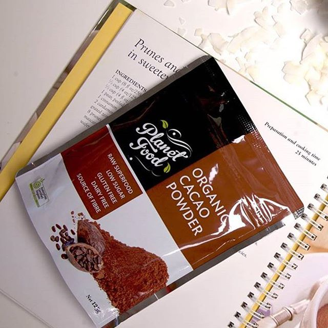 @planetfoodaustralia cacao powder is gluten free, dairy free and a great source of fibre! #rawsuperfood 💞 find us at @colessupermarkets and share your creations tagging us to be featured on our feed 😉