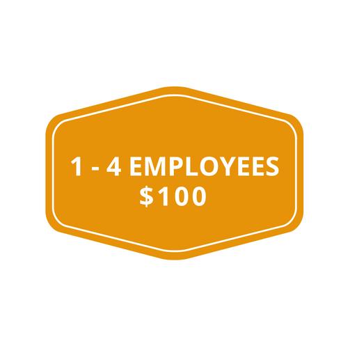 1-4 employees