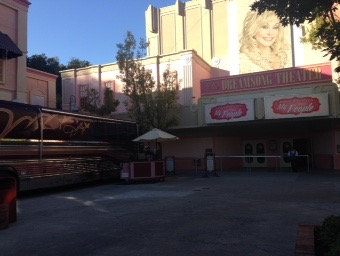 Dolly's old tour bus and Dreamsong Theater