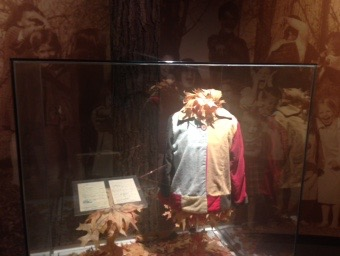 "A replica of ""the coat of many colors"" Dolly's mother made for her as a young girl that inspired her hit song"