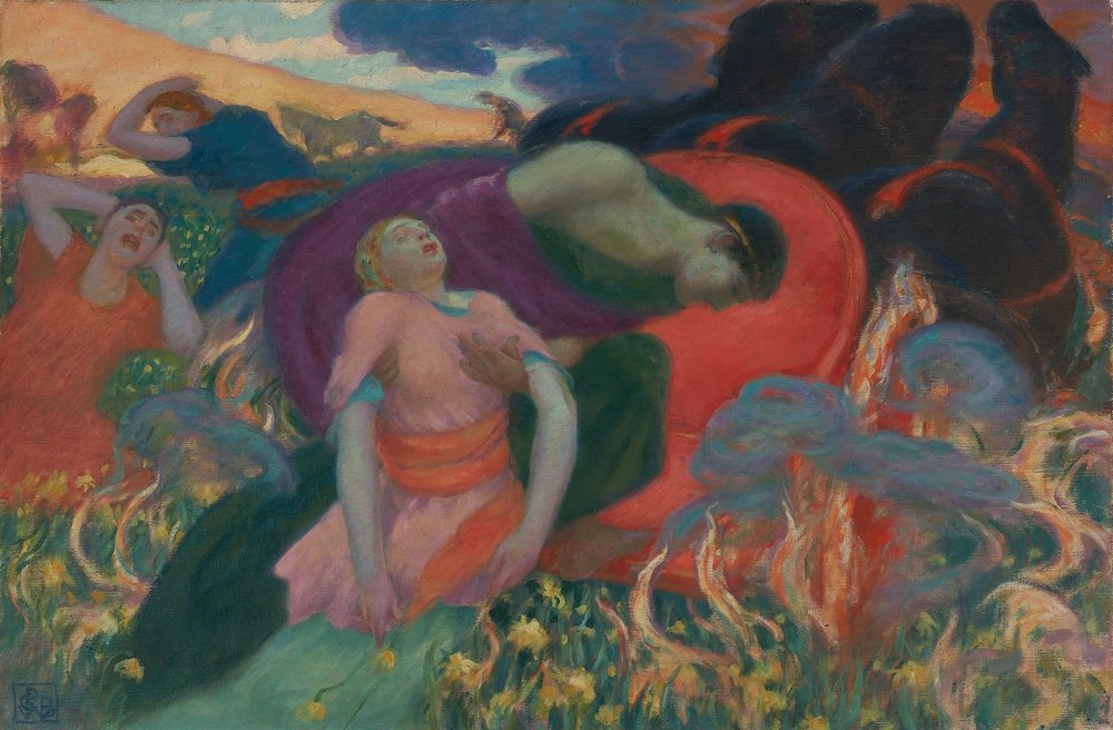 The Rape of Perseophone, by Rupert Bunny (Creative Commons)