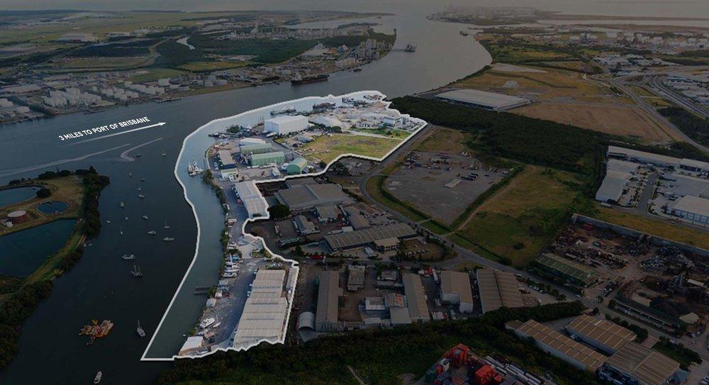 Marina and Shipyard, Queensland Australia