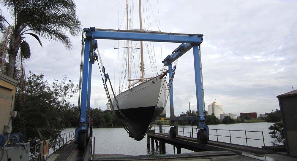 65T Straddle Carrier Queensland