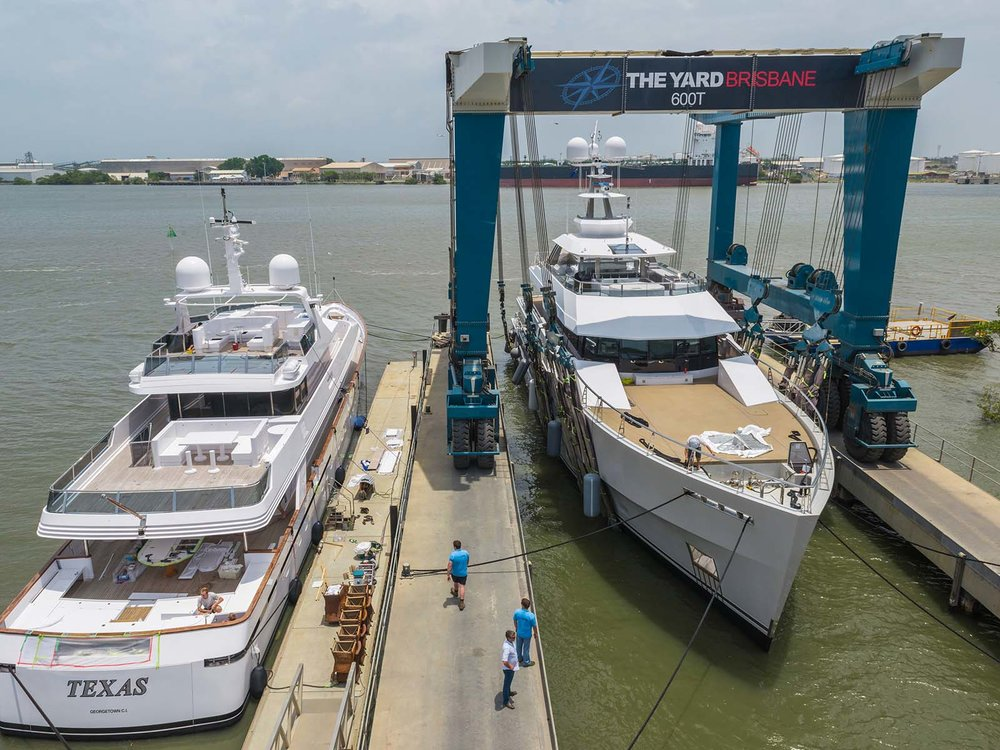 The Yard Brisbane   The most well-resourced all weather shipyard in the Southern Hemisphere