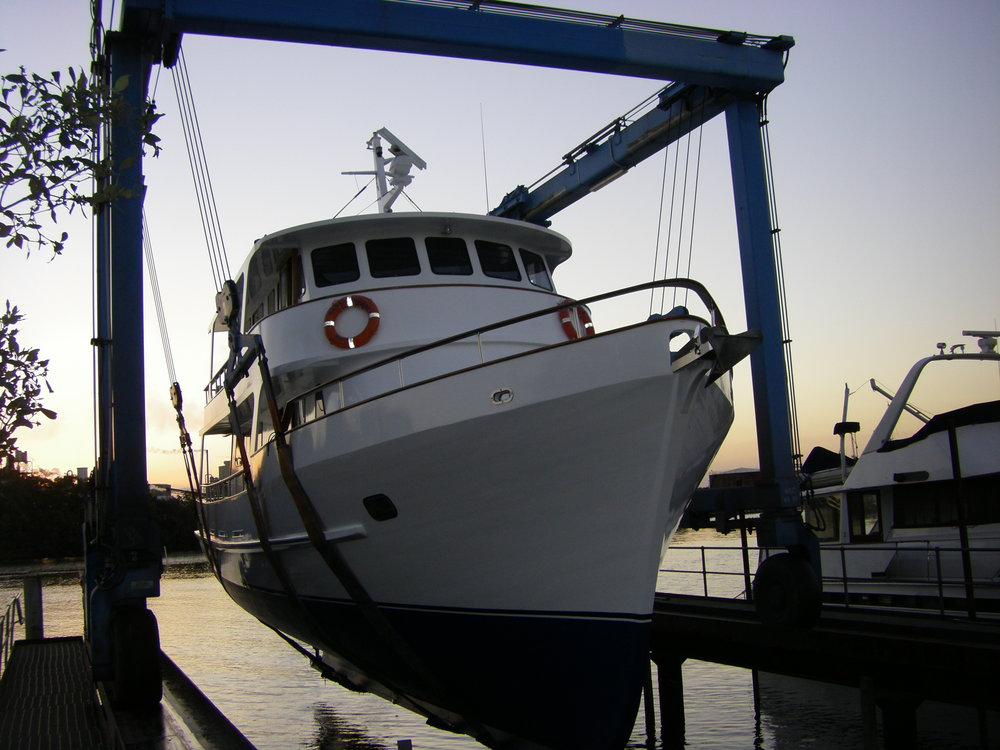 65t Marine Travel Lift with 7.2m Beam Capability