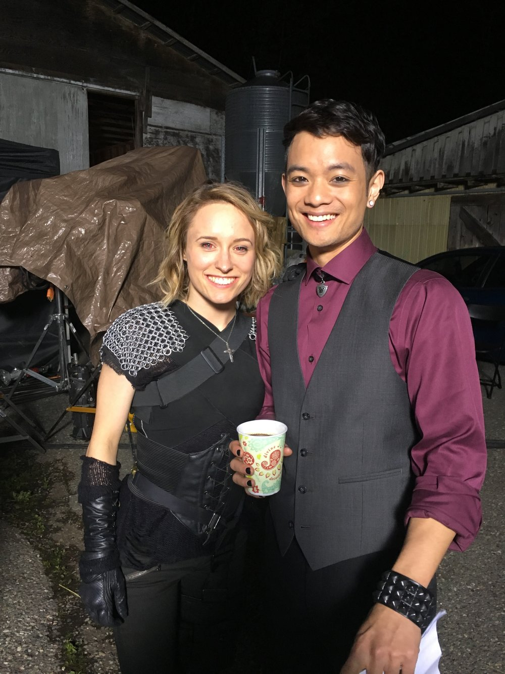 Demonx cassandra and osric chau.JPG