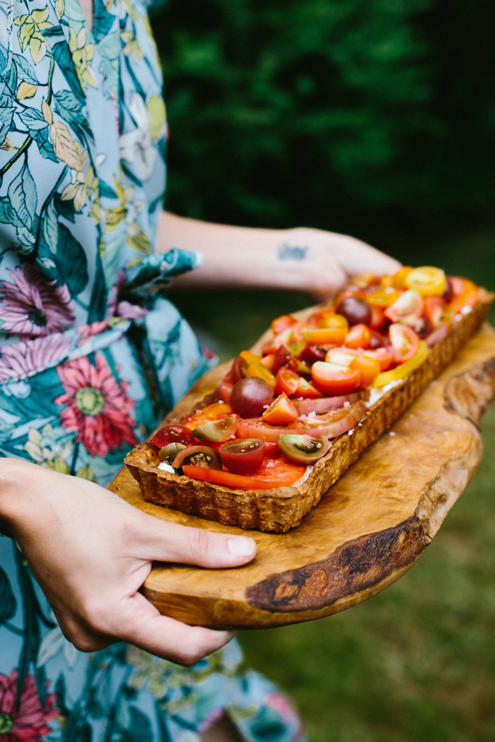 blue ribbon tomato tart