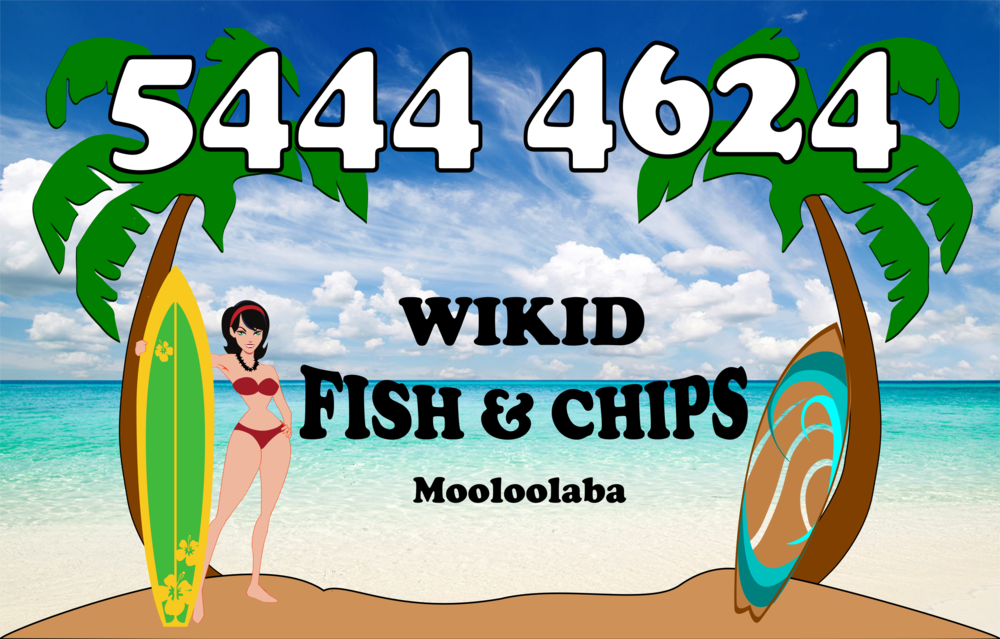 Wikid Fish & Chips Mooloolaba