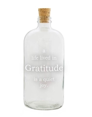 Gratitude Apothecary Jar, The Paper store