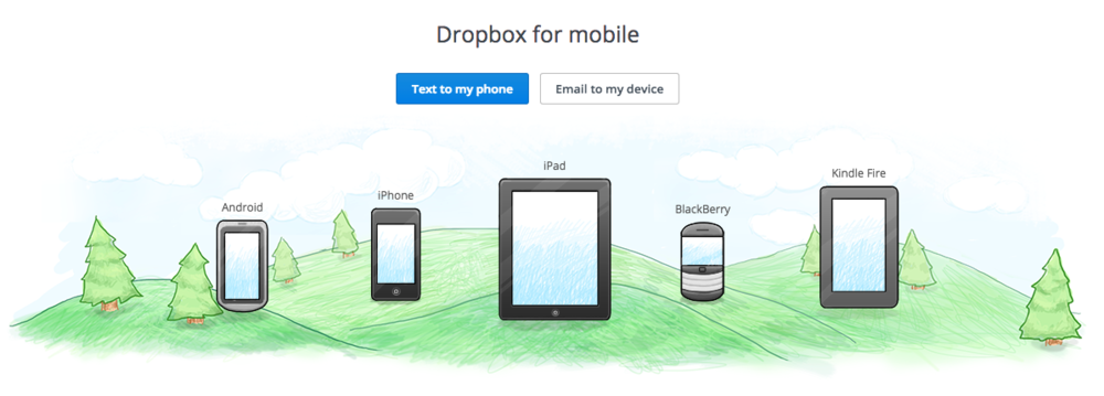dropbox for mobile