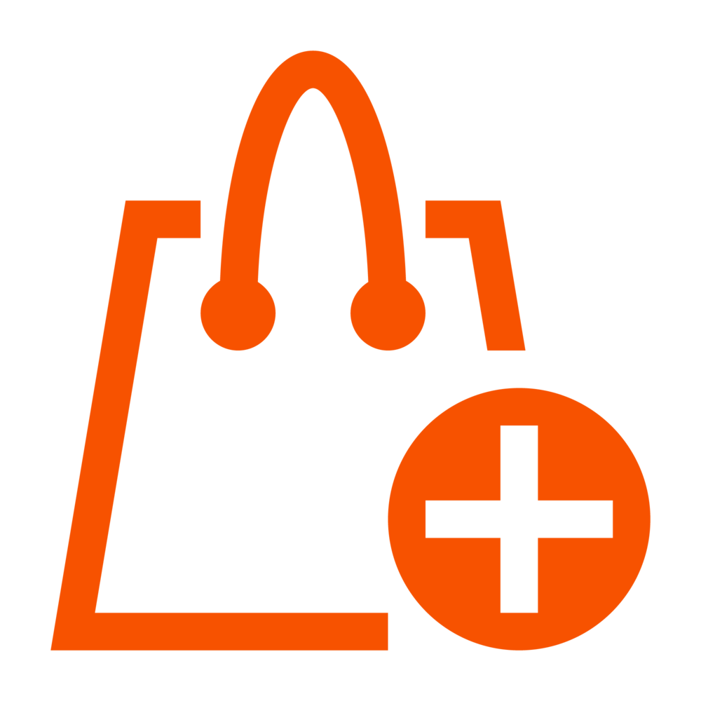 Shopping Bag #f75200.png